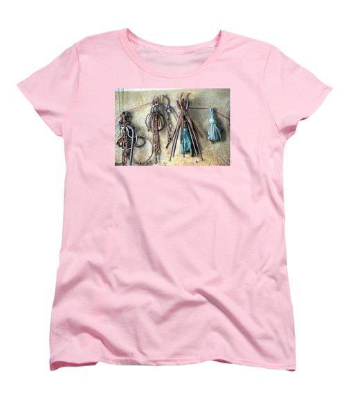 Coppersmith Tools Women's T-Shirt (Standard Cut) by Debi Demetrion