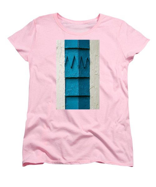 Corner Detail Women's T-Shirt (Standard Cut)