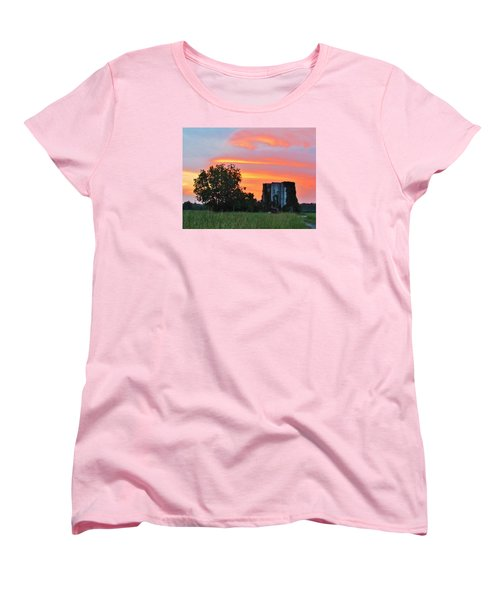 Country Sky Women's T-Shirt (Standard Cut) by Cynthia Guinn