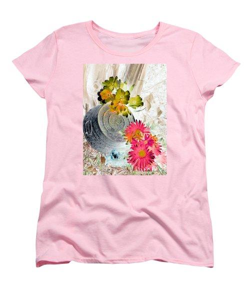 Country Summer - Photopower 1509 Women's T-Shirt (Standard Cut) by Pamela Critchlow