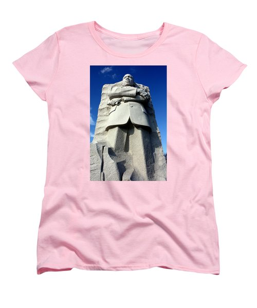 Women's T-Shirt (Standard Cut) featuring the photograph Courage by Suzanne Stout