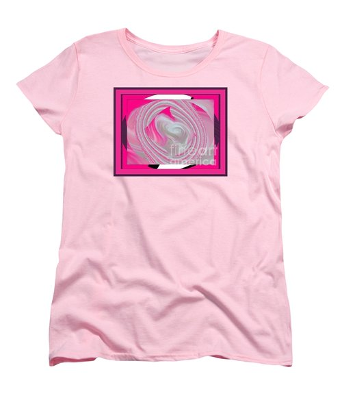 Women's T-Shirt (Standard Cut) featuring the digital art Callie by Catherine Lott
