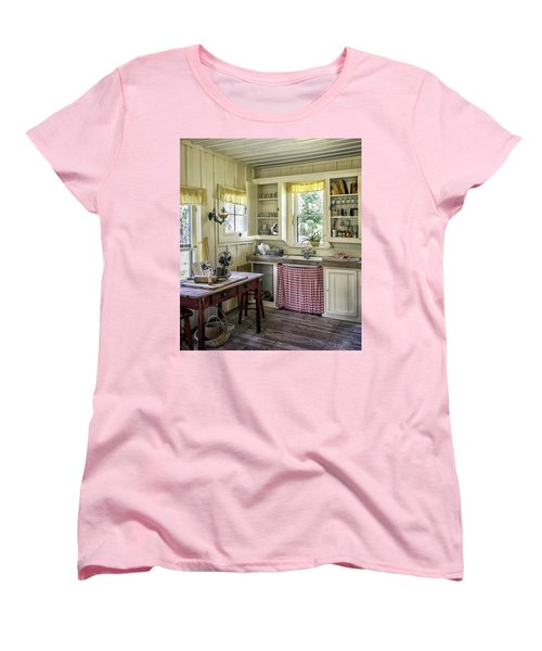 Cross Creek Country Kitchen Women's T-Shirt (Standard Cut) by Lynn Palmer
