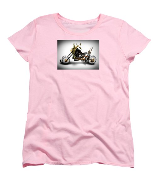 Custom Band II Women's T-Shirt (Standard Cut) by Alessandro Della Pietra