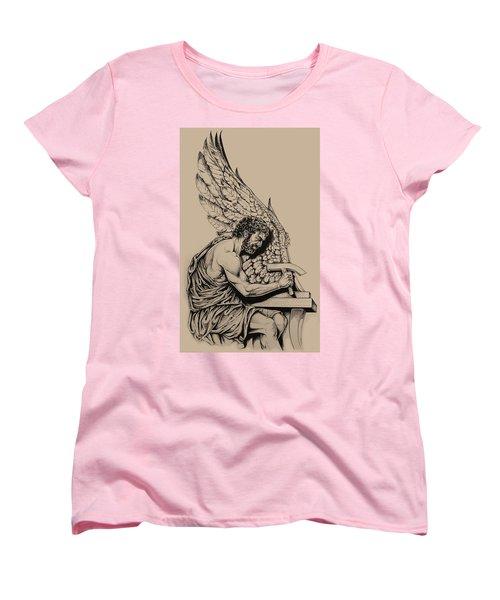 Daedalus Workshop Women's T-Shirt (Standard Cut) by Derrick Higgins