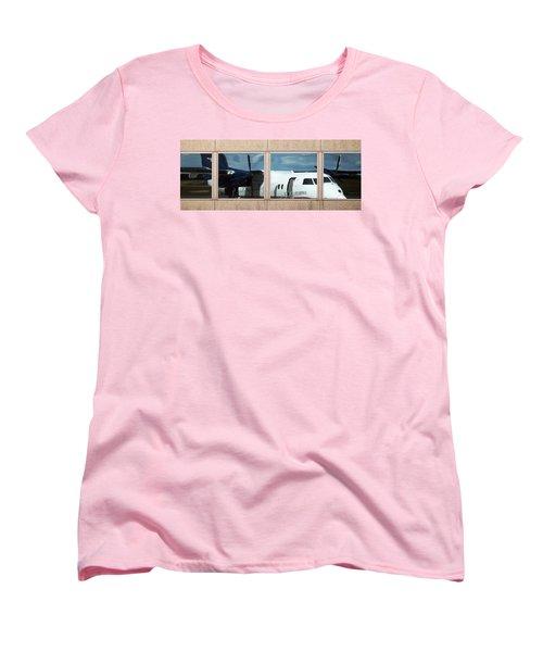 Dash Reflection Women's T-Shirt (Standard Cut) by Greg Reed