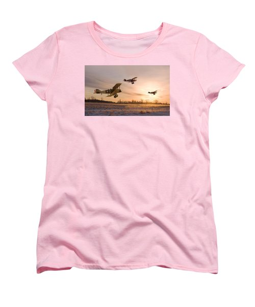 Dawn Patrol Women's T-Shirt (Standard Cut) by Pat Speirs
