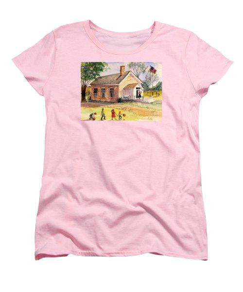 Days Gone By Women's T-Shirt (Standard Cut) by Marilyn Smith