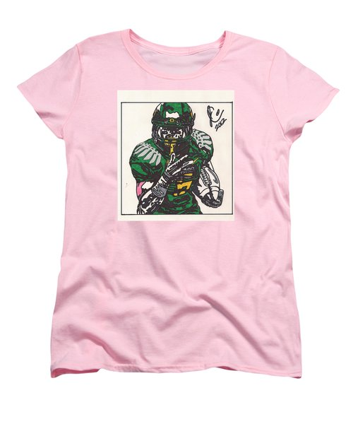 De'anthony Thomas Women's T-Shirt (Standard Cut) by Jeremiah Colley
