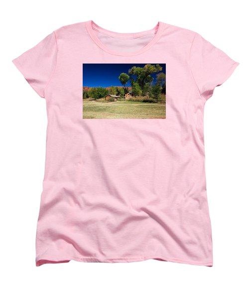 Desert Field Women's T-Shirt (Standard Cut) by Dave Files