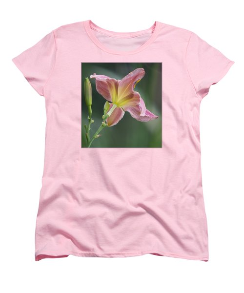 Women's T-Shirt (Standard Cut) featuring the photograph Dreamy Daylily by Patti Deters