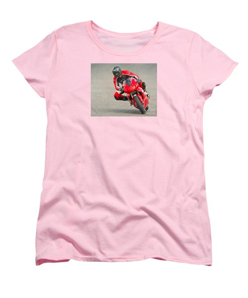 Ducati 900 Supersport Women's T-Shirt (Standard Cut) by Jerry Fornarotto