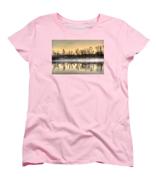 Early Morning Mist Women's T-Shirt (Standard Cut) by Lynn Geoffroy