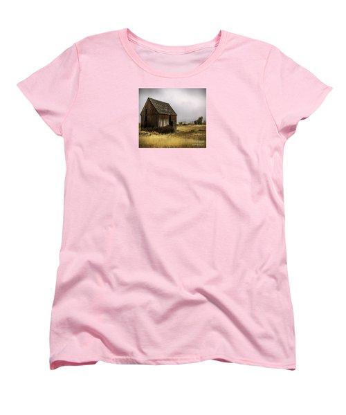 Earthly Possessions Women's T-Shirt (Standard Cut) by Jean OKeeffe Macro Abundance Art