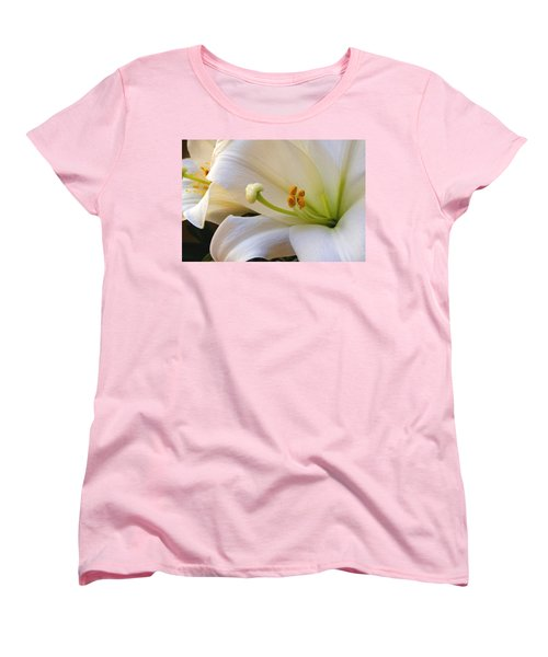 Women's T-Shirt (Standard Cut) featuring the photograph Easter Lily by Bonnie Willis
