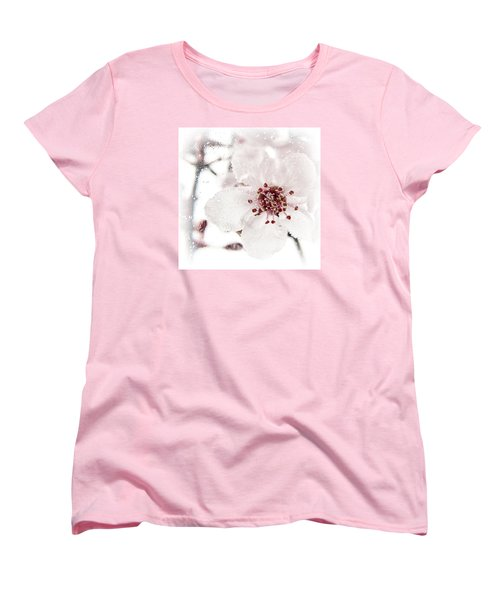 Women's T-Shirt (Standard Cut) featuring the photograph Effervescent by Caitlyn  Grasso