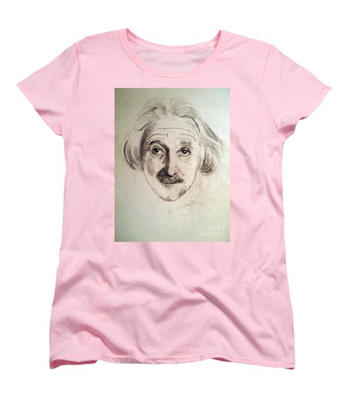 Einstein Women's T-Shirt (Standard Cut) by Nancy Kane Chapman
