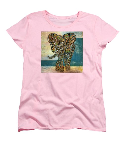 Elefantos - 01ac03at03b Women's T-Shirt (Standard Cut) by Variance Collections