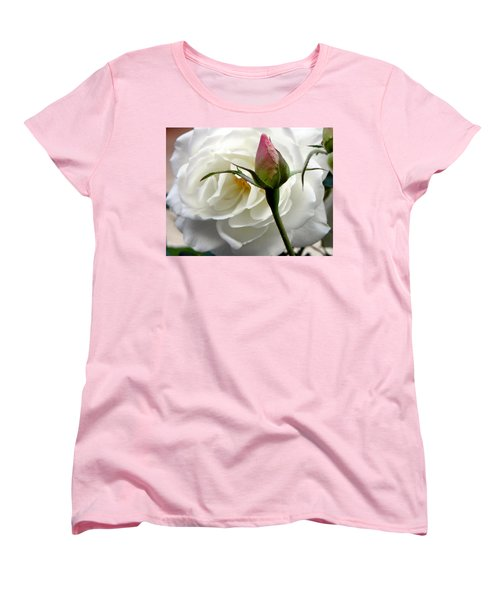 Women's T-Shirt (Standard Cut) featuring the photograph Emergence by Deb Halloran