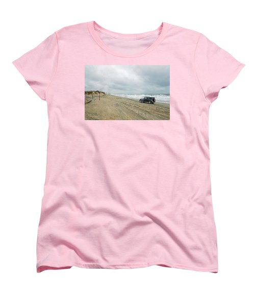 End Of The Road Women's T-Shirt (Standard Cut) by Photographic Arts And Design Studio