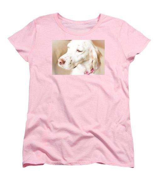 English Setter In Natural Light Women's T-Shirt (Standard Cut) by Brian Caldwell