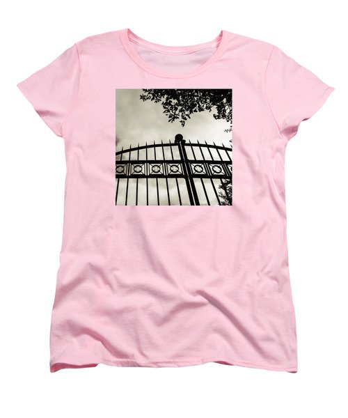 Entrances To Exits - Gates Women's T-Shirt (Standard Cut) by Steven Milner