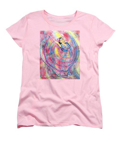 Expressing Her Passion Women's T-Shirt (Standard Cut)