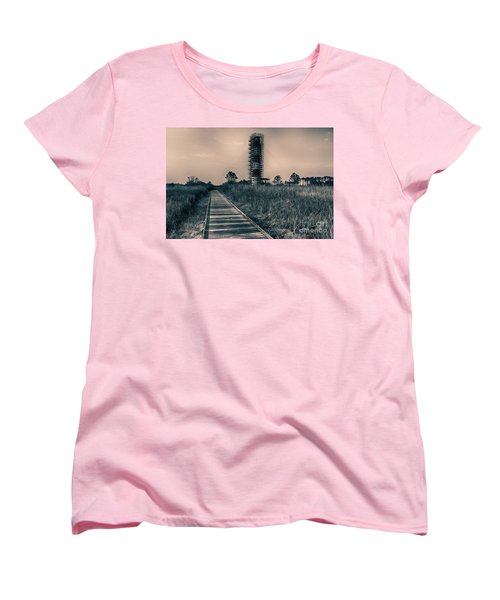 Extreme Makeover Lighthouse Edition Women's T-Shirt (Standard Cut) by Tony Cooper