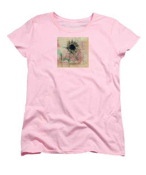 Women's T-Shirt (Standard Cut) featuring the painting Faded Love by Janice Westerberg
