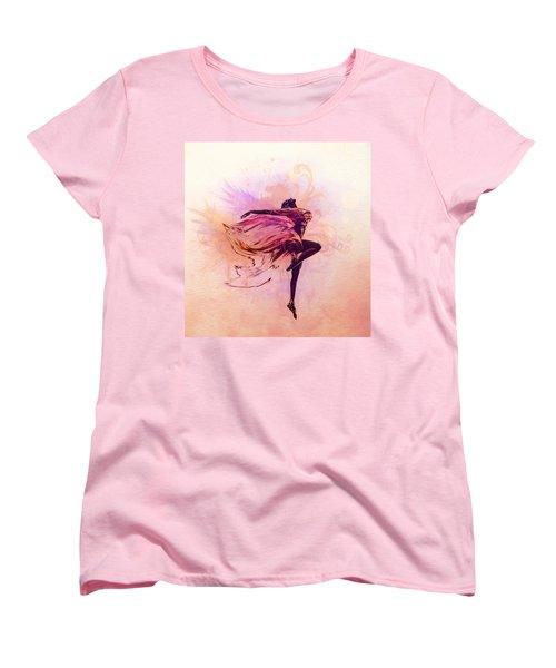 Fairy Dance Women's T-Shirt (Standard Cut) by Lilia D
