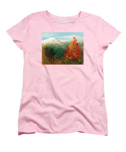 Fall Day Too Women's T-Shirt (Standard Cut) by C Sitton