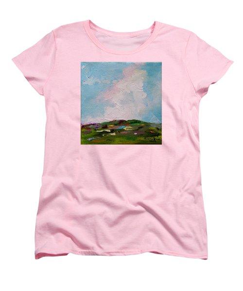 Farmland Iv Women's T-Shirt (Standard Cut) by Judith Rhue
