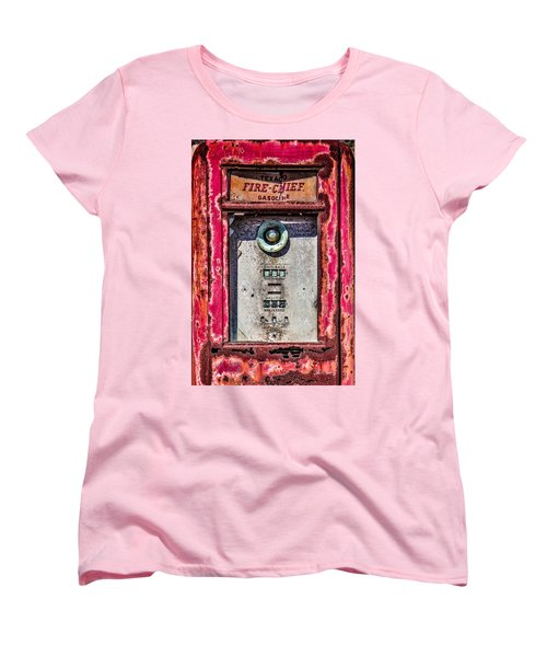 Women's T-Shirt (Standard Cut) featuring the photograph Fire Chief Gas by Steven Bateson