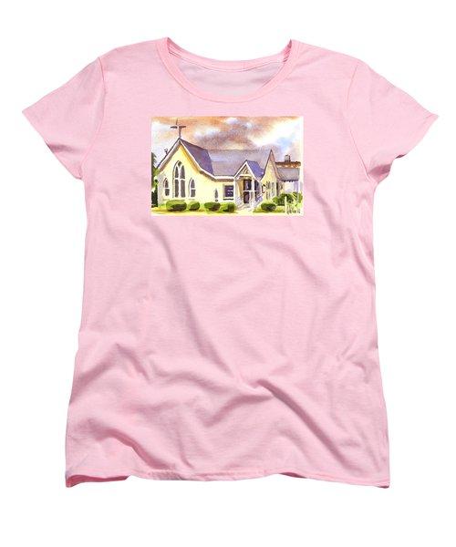 First Presbyterian Church Ironton Missouri Women's T-Shirt (Standard Cut) by Kip DeVore