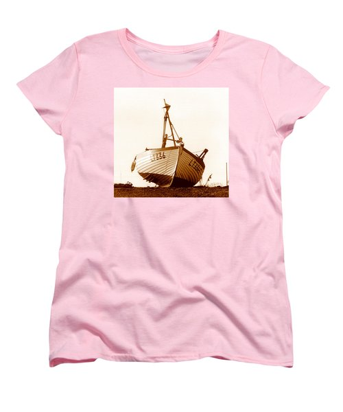 Women's T-Shirt (Standard Cut) featuring the photograph Fishing Boat by Peter Mooyman