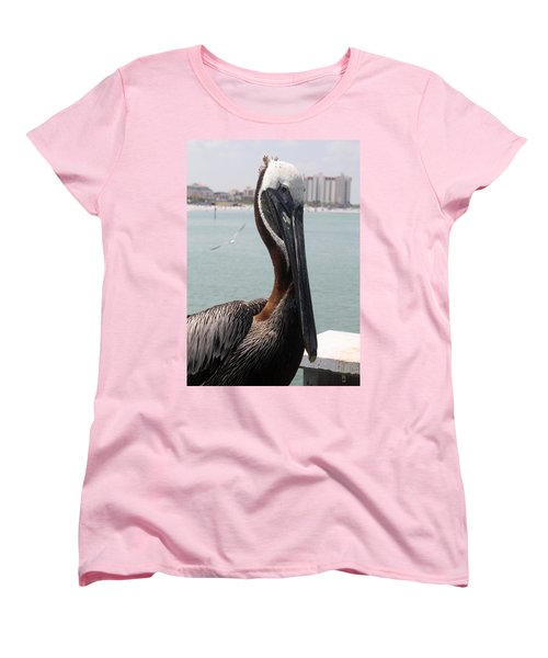 Women's T-Shirt (Standard Cut) featuring the photograph Florida's Finest Bird by David Nicholls