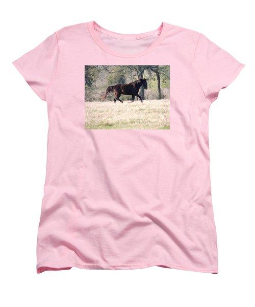 Flowing Beauty Women's T-Shirt (Standard Cut) by Kim Pate