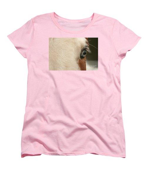 Focus Front Women's T-Shirt (Standard Cut) by Michelle Twohig