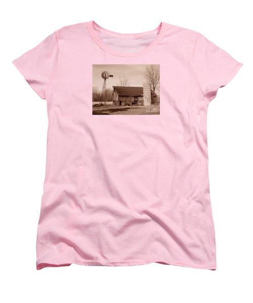 Forgotten Farm Women's T-Shirt (Standard Cut) by Judy Whitton