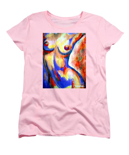 Free Soul Women's T-Shirt (Standard Cut) by Helena Wierzbicki