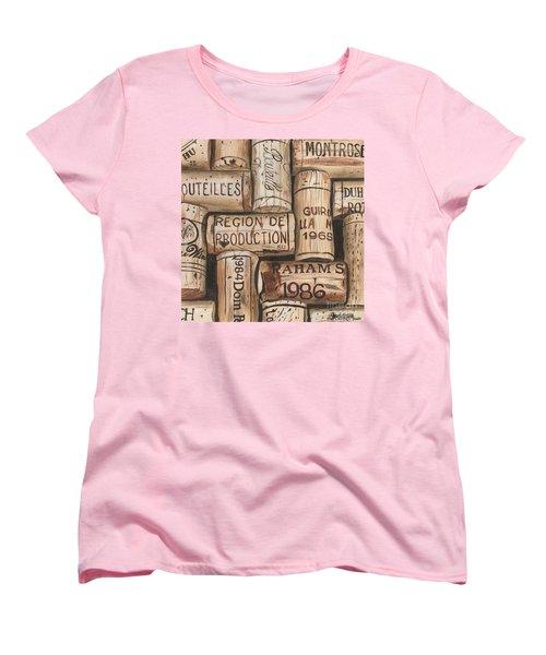 French Corks Women's T-Shirt (Standard Cut) by Debbie DeWitt