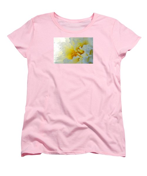 Women's T-Shirt (Standard Cut) featuring the photograph Frilling by Wendy Wilton