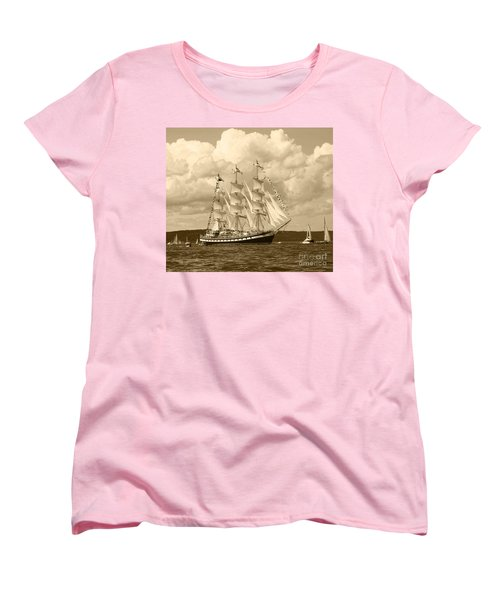 From Russia With Love Women's T-Shirt (Standard Cut) by Kym Backland