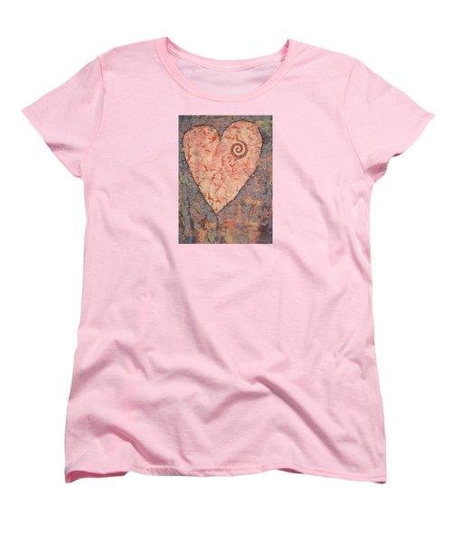 From The Heart Women's T-Shirt (Standard Cut) by Lynda Hoffman-Snodgrass