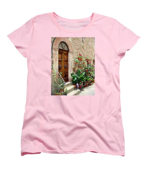 Front Door Women's T-Shirt (Standard Cut) by Ellen Henneke