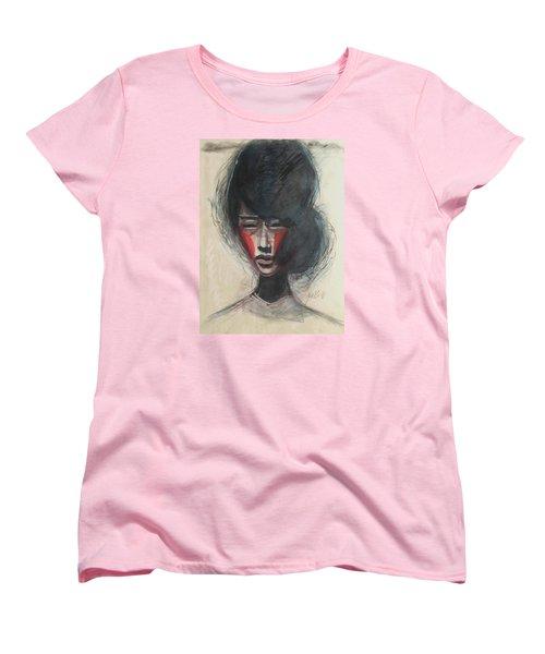 Geisha Make Up Women's T-Shirt (Standard Cut)
