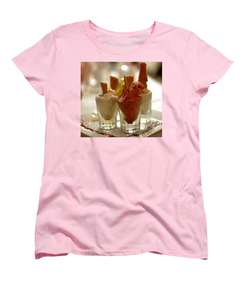 Gelato At Manducati's Rustica Women's T-Shirt (Standard Cut) by Steve Archbold