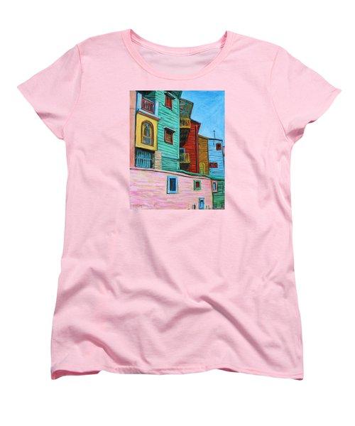 Geometric Colours II Women's T-Shirt (Standard Cut) by Xueling Zou