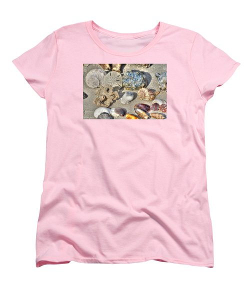 Gifts Of The Tides Women's T-Shirt (Standard Cut) by Benanne Stiens