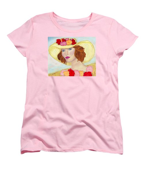 Women's T-Shirt (Standard Cut) featuring the painting Ginger by Arlene Crafton